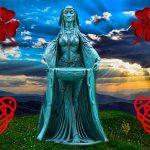 La diosa celta Dana