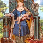 Frigg reina de los dioses
