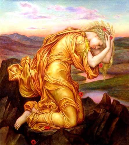 Deméter la diosa de la agricultura griega | Mitos Griegos Cortos