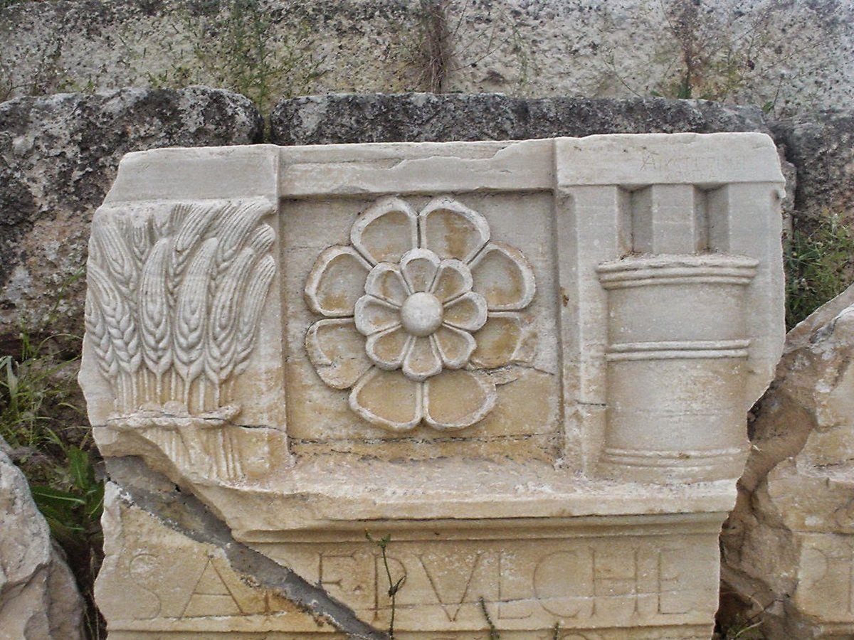 símbolos griegos Roda Símbolo Griego Antiguo